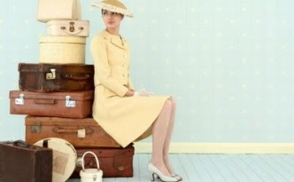 vintage-woman-with-vintage-luggage