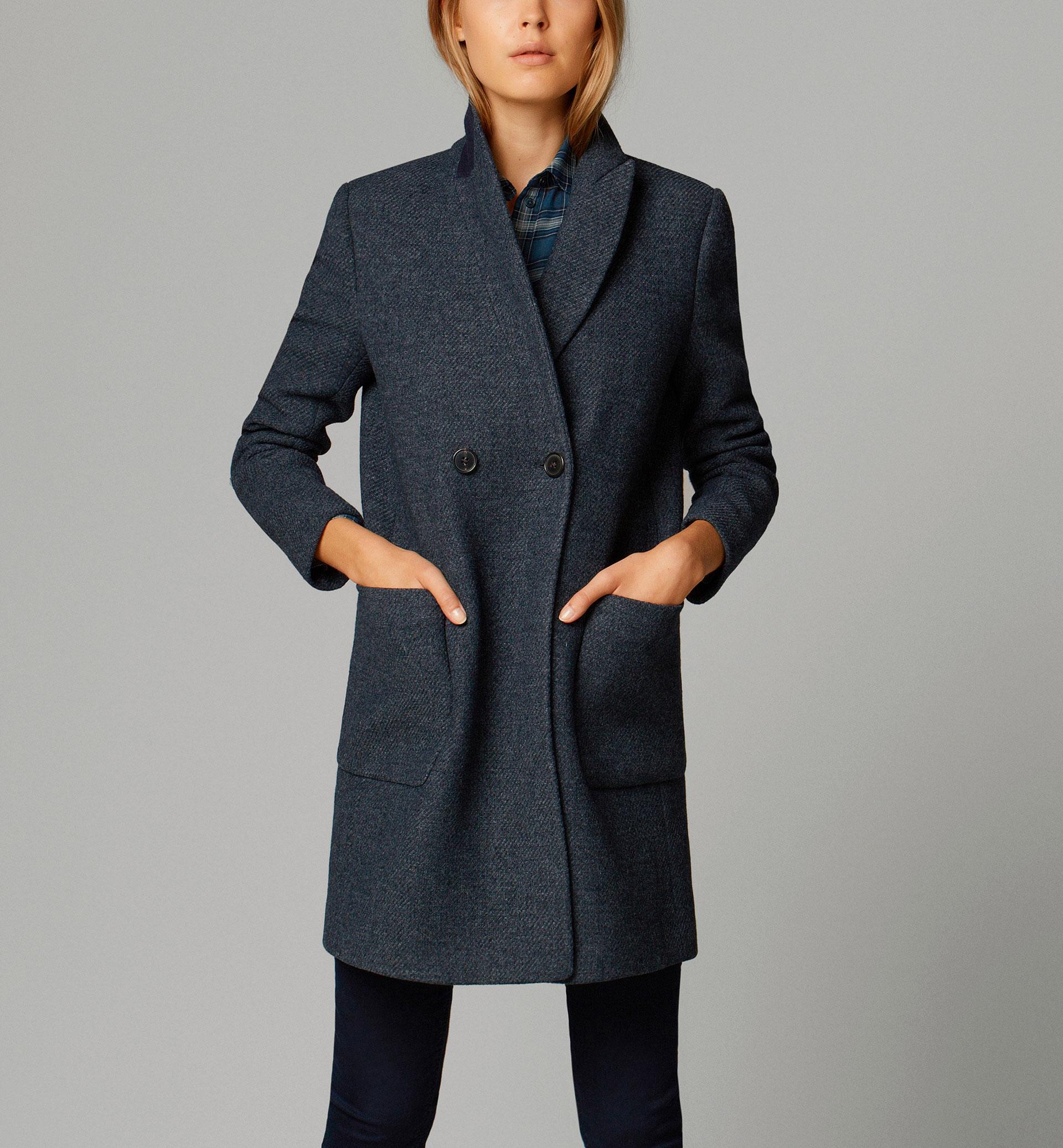 abrigo cruzado massimo duti 195