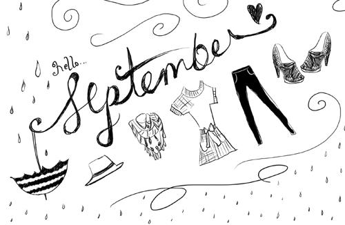 September_2012 by Marivic Ulep - Illustration