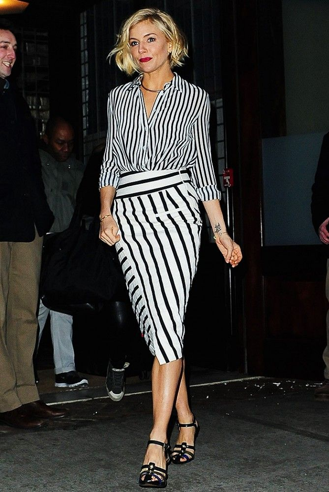 sienna-miller-bold-stripes-black-and-white-via-whowhatwear