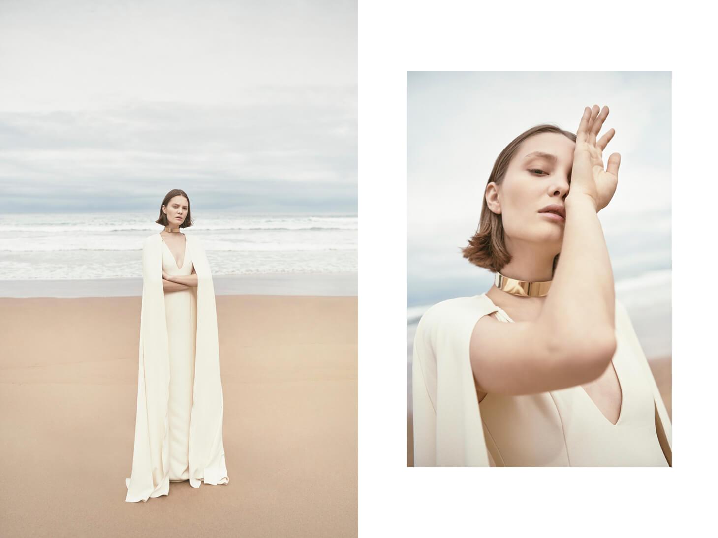 Monica-Cordera-bridal-novia-2018-vestido-blanco-mangas-capa