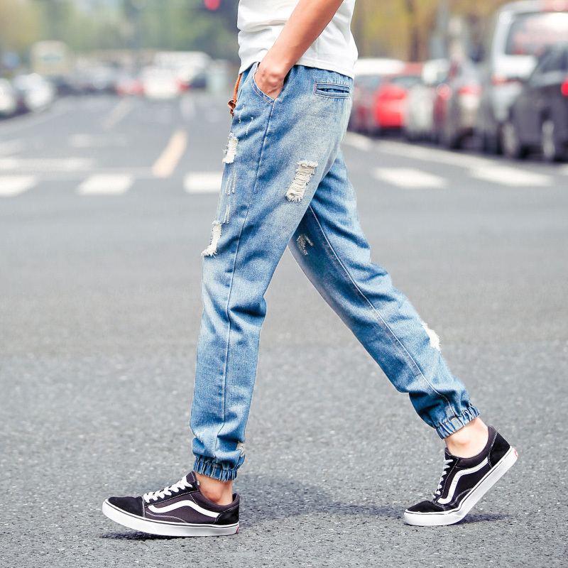2015-Fashion-Leisure-Street-Mens-Jeans-Ripped-Jeans-Men-Summer-Style-Harem-Denim-Overalls-Ankle-Length