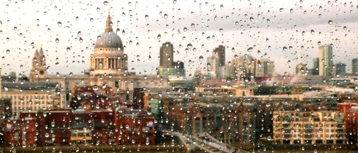 Rainy Day in London