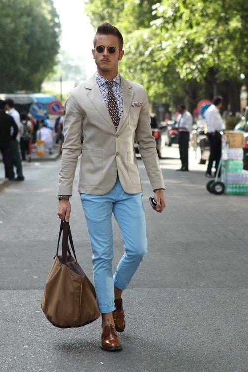 great-look-blue-pants