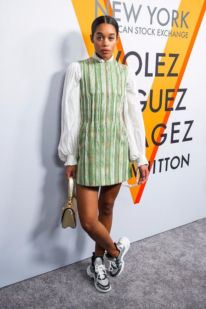 Laura-Harrier-Louis-Vuitton-Sneakers