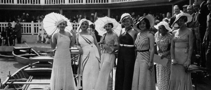 Women who visited and stayed at Piscine Molitor, 1933