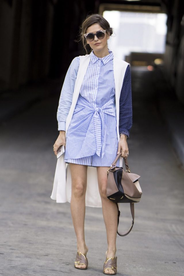 sleeveless-jacket-vest-shirtdress-shirt-dress-mules-nyfw-street-style-ps-fall-work-outfit-640x960