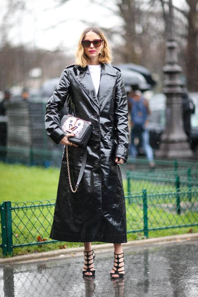 Shiny-Leather-Trench